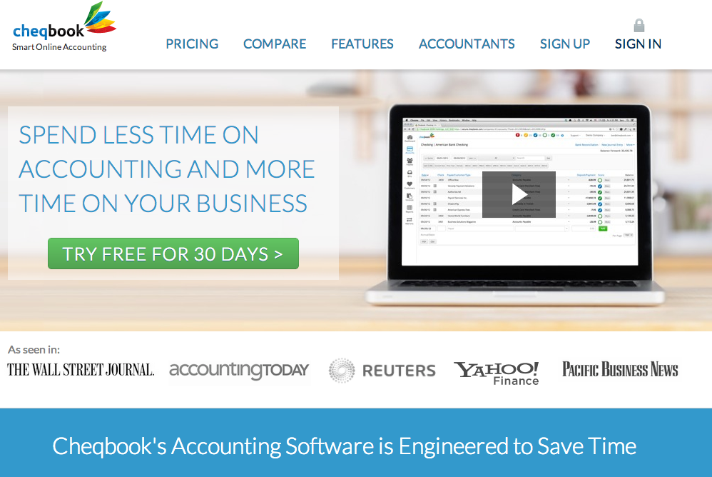 Cheqbook - Accounting Software Small Business Bookkeeping