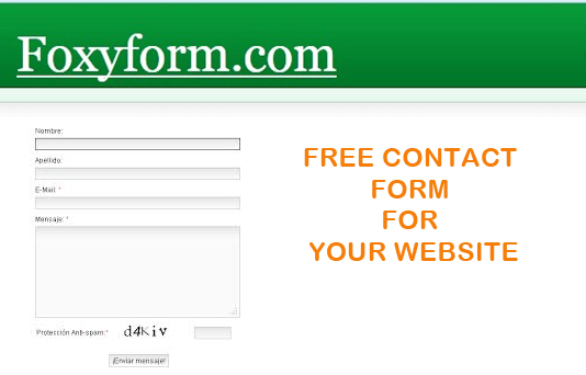 A contact form for your own website - create your own contact form quickly and easily - with anti-spam protection and, of course, completely free!