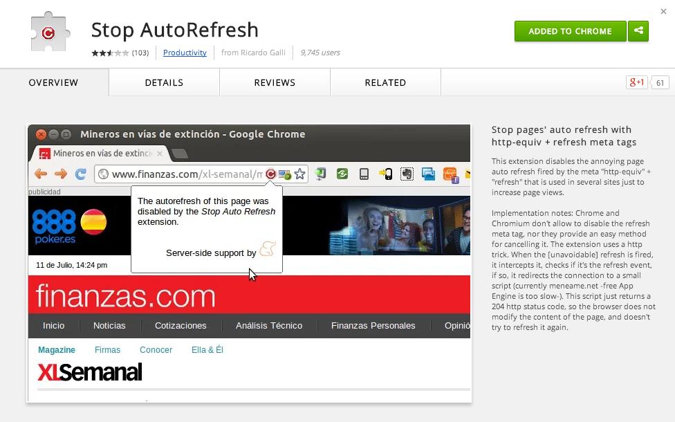 stop-auto-refresh
