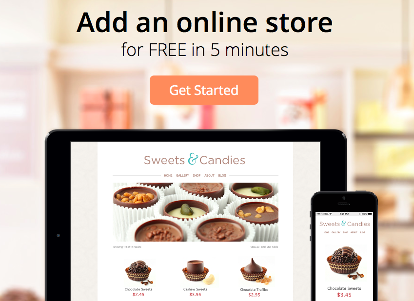 Ecwid - Free shopping cart Online Store